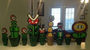 Potted Perler Creations by jnjfranklin