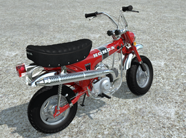 Honda CT70 motorcycle by unigami