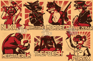 Con:Red Badge - Batch 5 by Eevachu