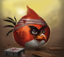 Angry bird by eXcrem by eXcrem
