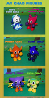 Chao Figures A by Leather-lynx