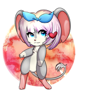 Girl Mouse nice by NightmareKrew
