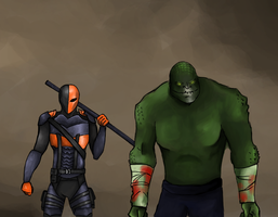 Arkham Origins Assassins W.I.P. by Soirema-pl