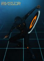 Tron Legacy - The Enforcer by ZahhoMii