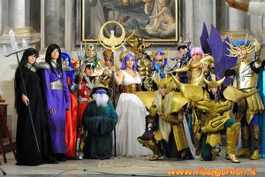 Saint Seiya Group by C4ppi3