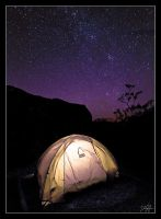 Camping Under the Stars by danheacock