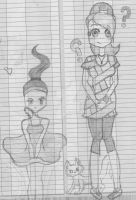 Random drawings out of my agenda 3 by AlexusArt-is-back
