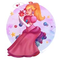 Princess Peach by PetraImboden