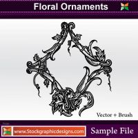 Vector Floral Ornaments by Stockgraphicdesigns