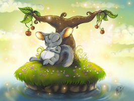 Dreaming by geci