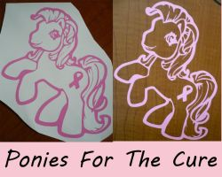 Ponies For The Cure by AnimeAmy