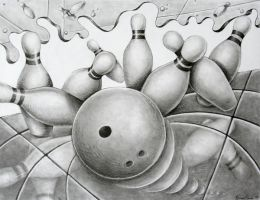 Abstract Bowling by TehLissness