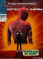 The Amazing Spider-man Cover: No more Spider-man by Timetravel6000v2