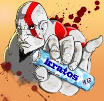 Kratos the freshmaker by Otagoth