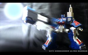 City Commander Ultra Magnus by palp