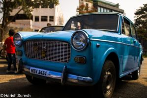 Retro Blue by harishrvt