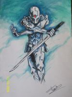 Gray Fox Metal Gear Solid by TheSniper92