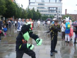 MCM 2014 - Kai Vs The Wolverine by InsaneSpyro