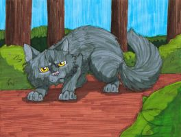 Yellowfang by Fernheart95