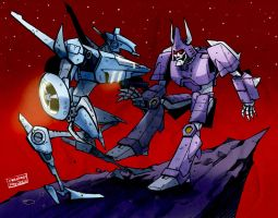 Cyclonus vs. Whirl 2 by n-e-w-r-o-n
