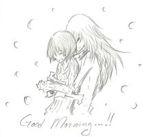 RikuXion :: Good Morning by FermonsNosYeux