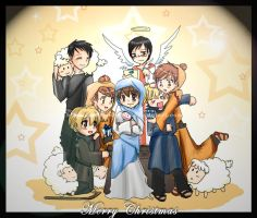 True Merry Christmas +ouran+ by HostClub