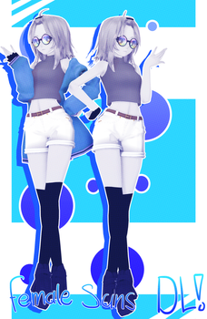 Female Sans UPDATE [+DL] by h4ise