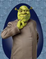 Dr. Evil Shrek by ThreeProngs