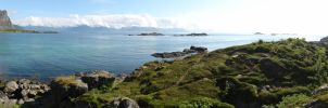 Blue-Green Bay by ChimeraDragonfang