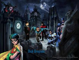 Dick Grayson by Netangel66