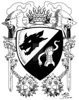 Count Windlam Coat of Arms by MartySalsman