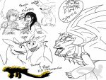 HTTYD 2 AU sketches by ShardianofWhiteFire