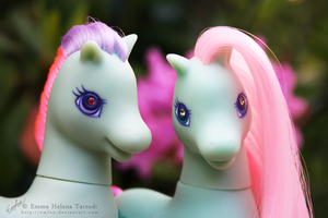 MLP G2 Ivy and Sea Breeze by Emfen