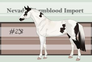 Nevada Warmblood 298 by BRls-love-is-MY-Live