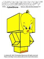 Cubeecraft - Tweety by CyberDrone