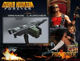 DNF Grenade Launcher by Wesker500