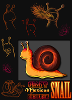 Larz the Snail by Flying-Foxx