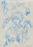 Sketches I by Marcianek