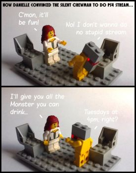 Warframe Lego comic 1 by Leonidas666