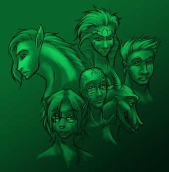 The Boys of Moreau by evion