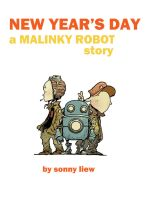 malinky robot cover page by sonny123