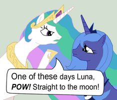 One of These Days, Luna by Qaxis