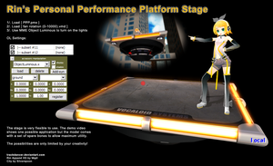 MMD Rin's PPP Stage instructions by Trackdancer