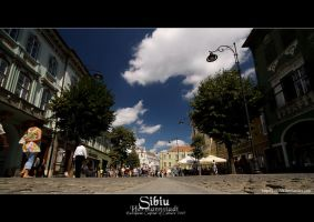 Sibiu - Hermannstadt by vxside