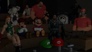 Garry's Mod Private Theater by majormario