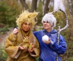 Jack Frost and Sandy by Rollwurst