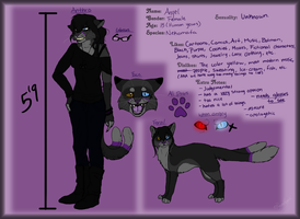 NEW Angel Reference sheet by Ravenstar01