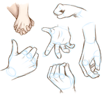 Hand Sketches by MewHarmonia