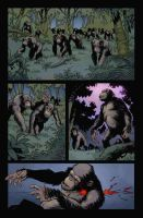 Rise of the planet of the apes by SpicerColor