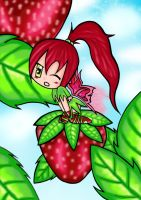Strawberry Fairy o.O by bitemefoo